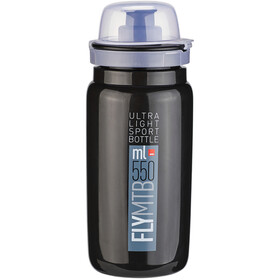 Elite Fly MTB Bidón 550ml, black/grey logo